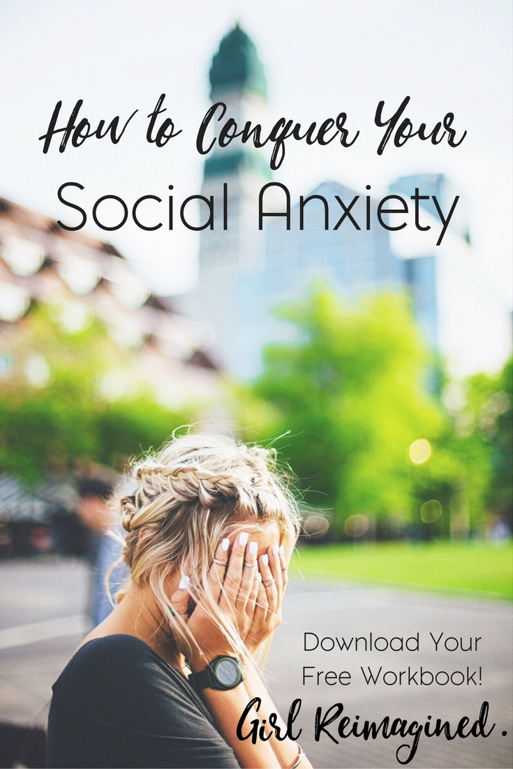 Conquering Your Social Anxiety, a simple guide and FREE workbook